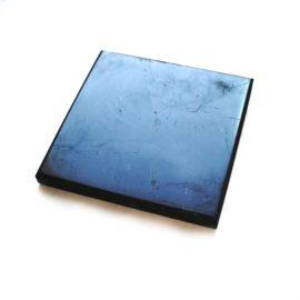 Schungit Platte 9 x 12cm (poliert)