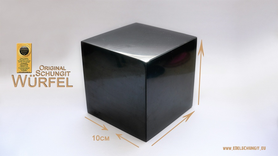 10cm Schungit Würfel