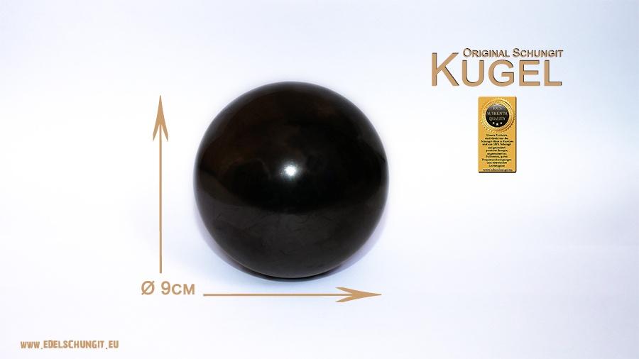 original schungit kugel 9cm