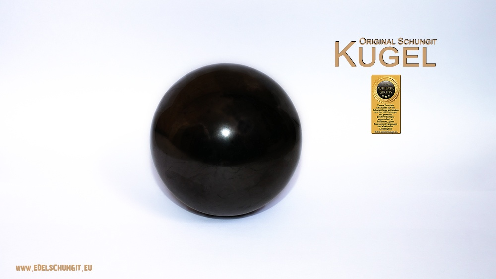 original schungit kugel aus karelien