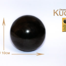 Schungit Kugel 10cm (poliert)