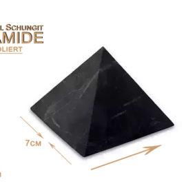 Schungit Pyramide 7cm (unpoliert)